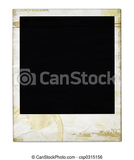 Aged Polaroid - csp0315156