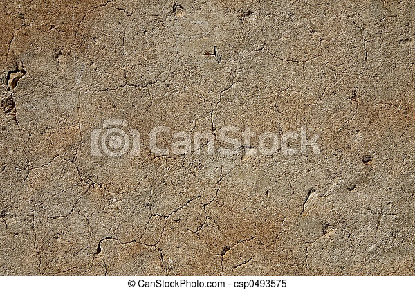 Aged wall - csp0493575