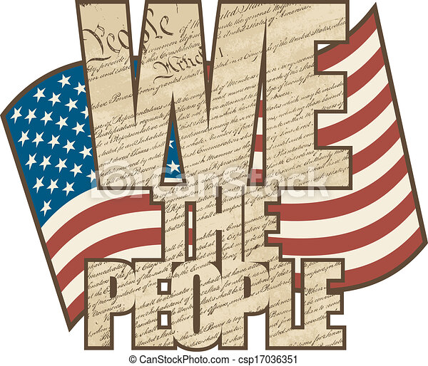 Aged We The People - csp17036351