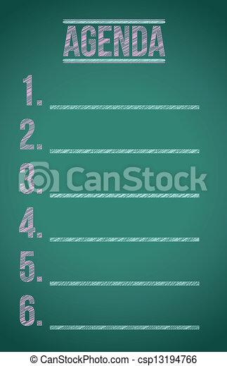 agenda list - csp13194766