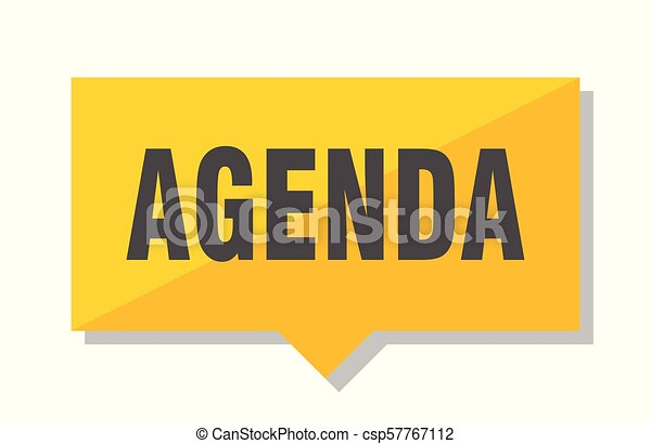 agenda price tag - csp57767112