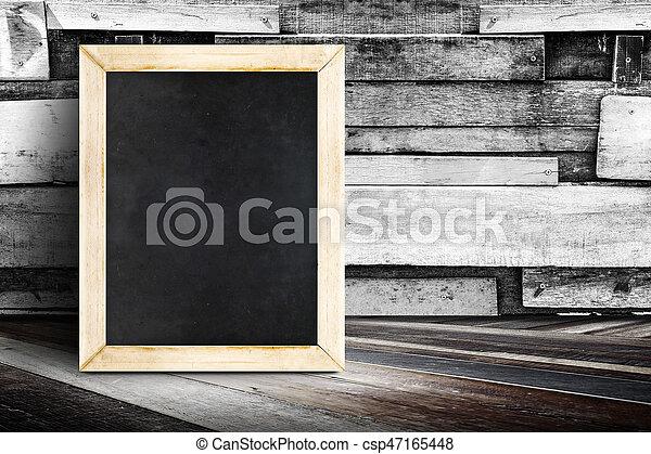 Pareti Di Lavagna : Carta da parati lavagna sulla parete di legno u pixers viviamo