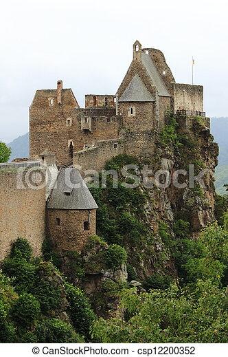 Aggstein Castle - csp12200352