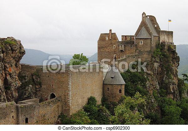 Aggstein Castle - csp6902300