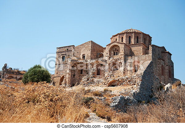 Agia Sofia church - csp5607908