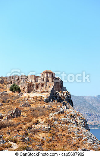 Agia Sofia church - csp5607902