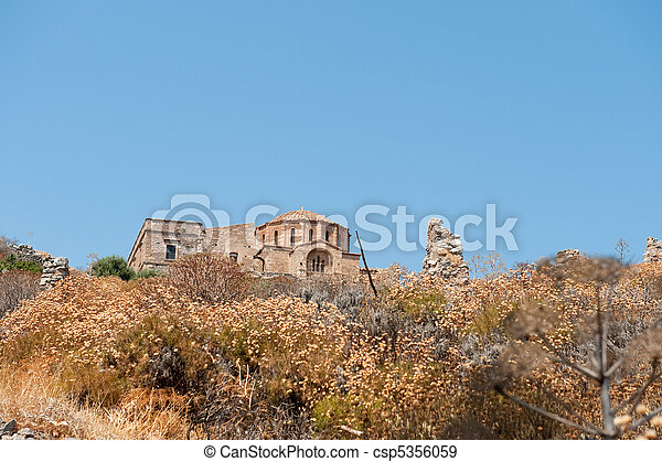 Agia Sofia church - csp5356059