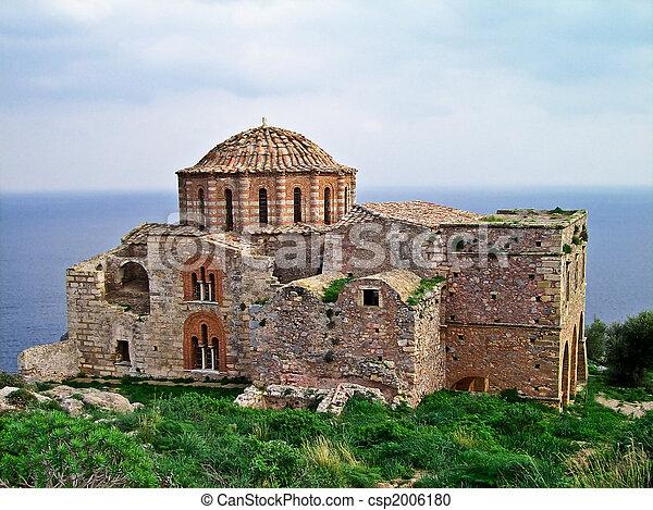 Agia Sophia church, Monemvasia, Greece - csp2006180