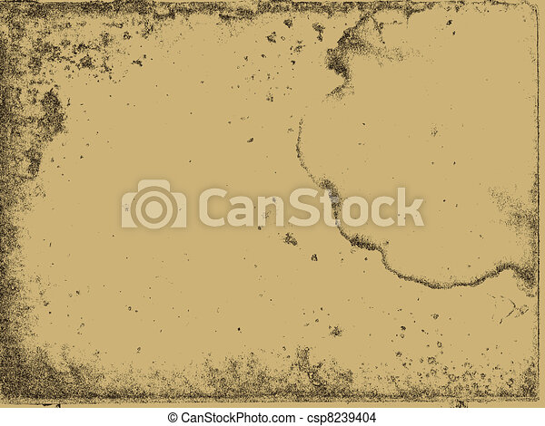 aging paper texture, vector illustration - csp8239404