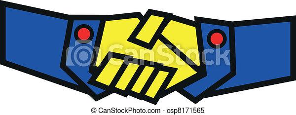 agitação mão - csp8171565