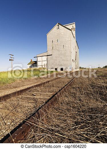 agrícola, edificio. - csp1604220