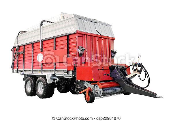 Un remolque agrícola - csp22984870