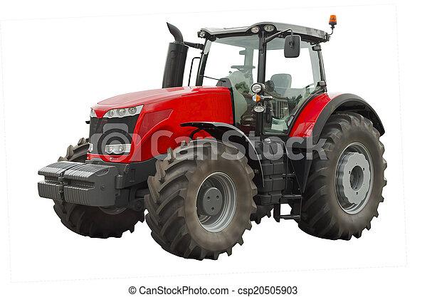 Un tractor agrícola - csp20505903