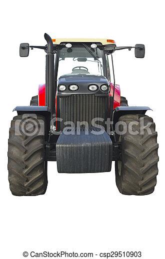 Un tractor agrícola - csp29510903