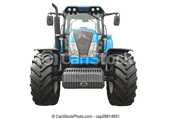 Un tractor agrícola - csp28814831