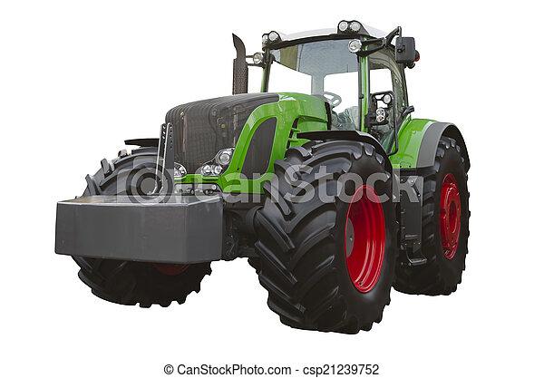 Un tractor agrícola - csp21239752
