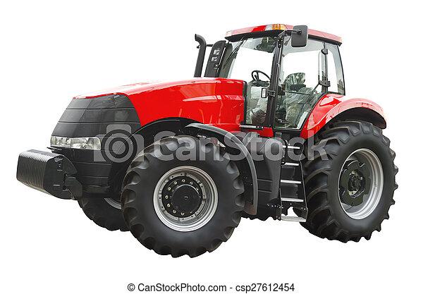 Un tractor agrícola - csp27612454