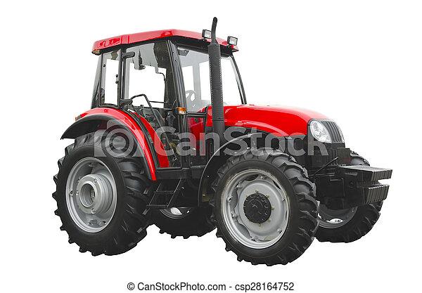 Un tractor agrícola - csp28164752