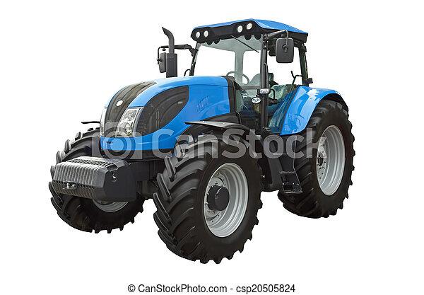 Un tractor agrícola - csp20505824
