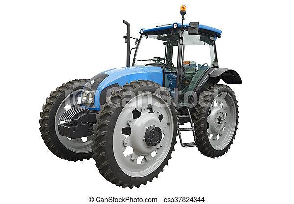 Un tractor agrícola - csp37824344