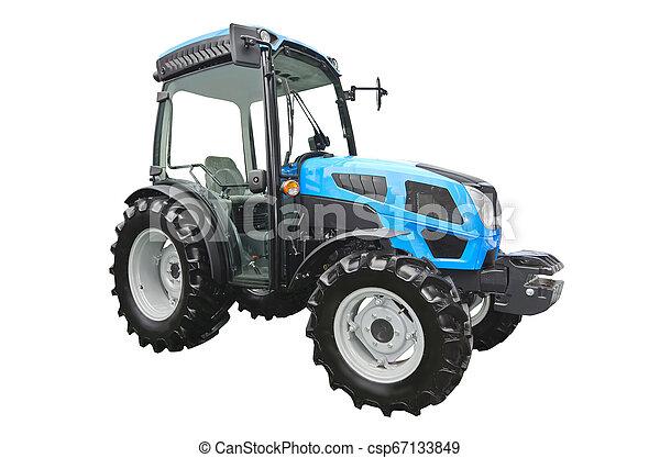 Un tractor agrícola - csp67133849