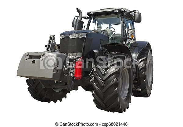 Un tractor agrícola - csp68021446