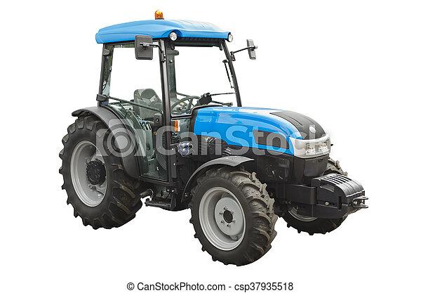 Un tractor agrícola - csp37935518
