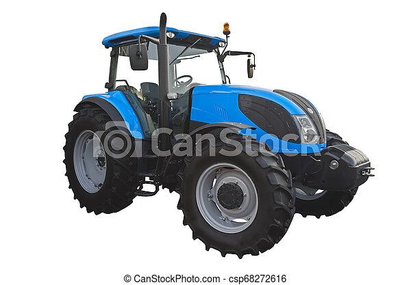 Un tractor agrícola - csp68272616