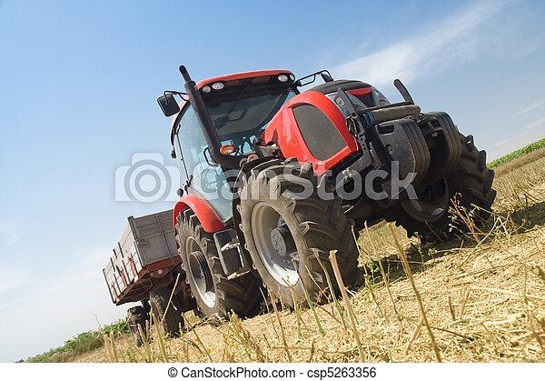 agricultura, -, trator - csp5263356