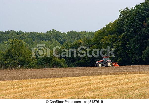 agricultura, trator - csp5187619