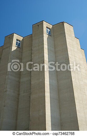 Agricultural building view - csp73462768