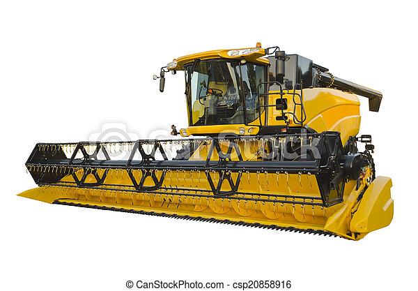 Agricultural harvester - csp20858916