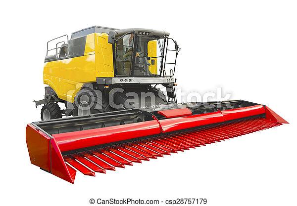 Agricultural harvester - csp28757179