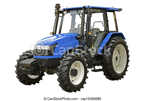 Agricultural tractor - csp15494686