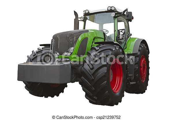 Agricultural tractor - csp21239752