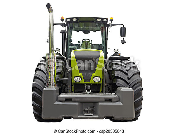 Agricultural tractor - csp20505843