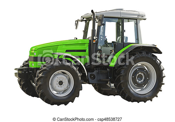 Agricultural tractor - csp48538727