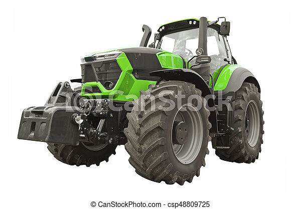 Agricultural tractor - csp48809725
