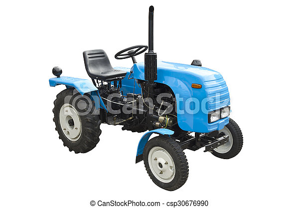 Agricultural tractor - csp30676990