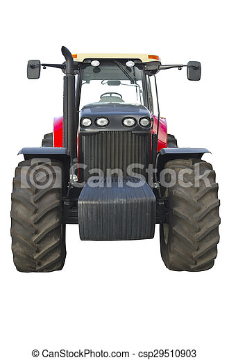 Agricultural tractor - csp29510903