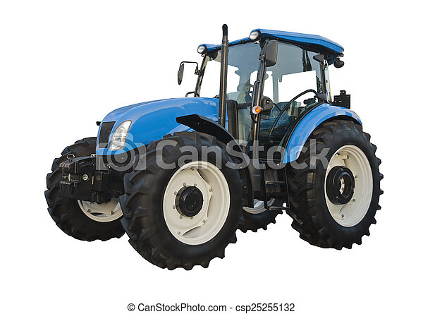 Agricultural tractor - csp25255132