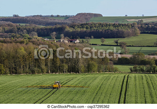 Agriculture - Crop Spraying - csp37295362