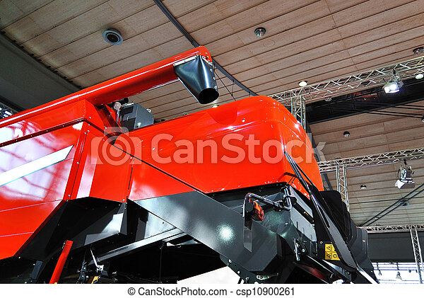 Agriculture machinery exhibition. - csp10900261
