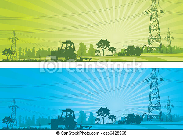 agriculture, paysage - csp6428368
