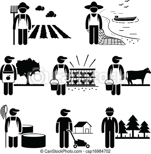 Agriculture Plantation Farming Job - csp16984702