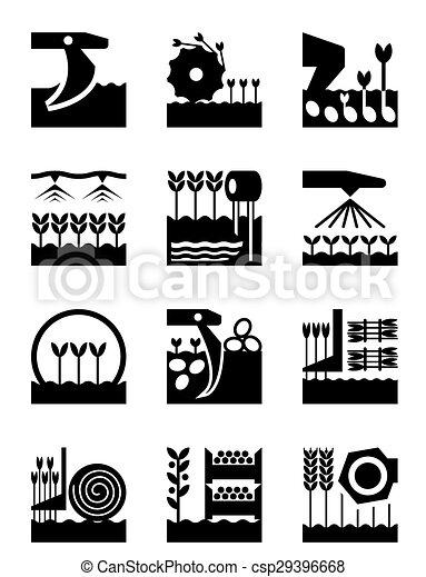 agriculture, récolte, récolte - csp29396668