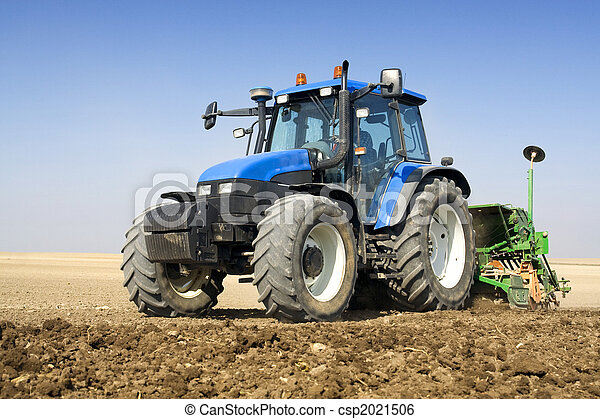 agriculture, -, tracteur - csp2021506