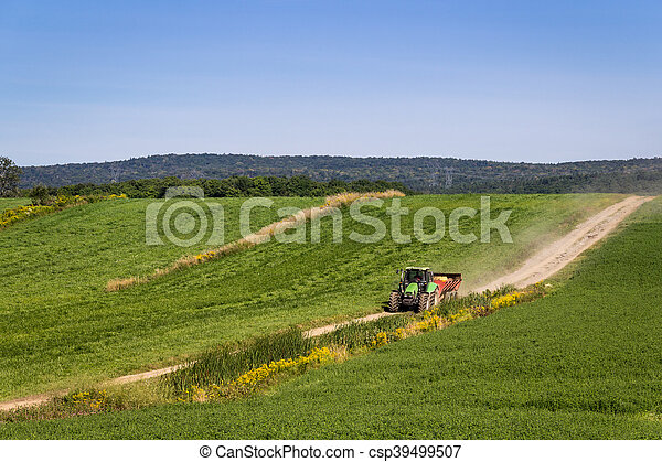 agriculture tractor machinery - csp39499507
