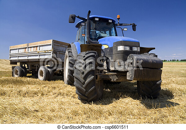 Agriculture - Tractor - csp6601511