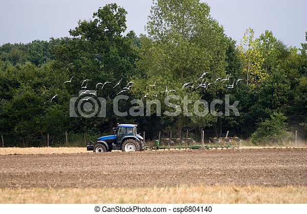 agriculture tractor - csp6804140